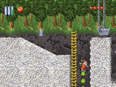 santa claus saves the earth telegames sony playstation ps1 retrogaming review rgg retrogamegeeks psx xmas father christmas video games screenshots