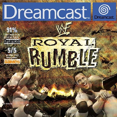 wwf royal rumble 2000 sega dreamcast rgg retrogamegeeks.co.uk retro game geeks retrogaming pal cover box art wwe thq yukes jakks