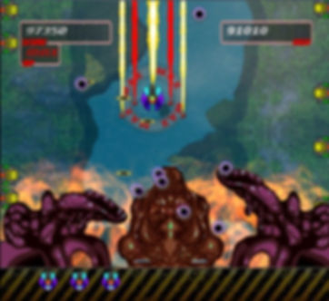 super killer hornet resurrection ouya xbox live indie retro review retrogamegeeks.co.uk flump studios ikaruga