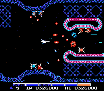 gradius parodius salamander konami 1 2 3 wii nintendo nes snes n64 gamecube space shmup shmups arcade japan famicom retrogamegeeks.co.uk rgg retrogaming videogames retro game geeks games gaming gamers review