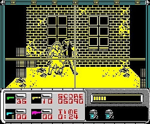 robocop film movie videogame games gaming retrogaming rgg retrogamegeeks.co.uk retro game geeks 80s detroit zx spectrum amiga c64 atari st amstrad cpc 464 movies films nes commodore retrogames screenshot