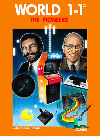 World 1-1 one one Atari 2600 vcs film movie documentary nolan bushnell David Crane space invaders E.T. rgg retrogamegeeks.co.uk retrogaming videogames pitfall pac-man asteroids activision river raid superman spiderman star wars kickstarter Ralph H. Baer