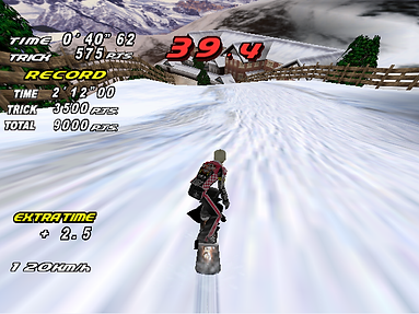 sega dreamcast snow surfers rippin riders cool boarders burrrn retro game geeks review pal ntsc jap emulation roms rgg retrogaming retrogamegeeks.co.uk retrogames gaming gamers games winter snowboarding sports