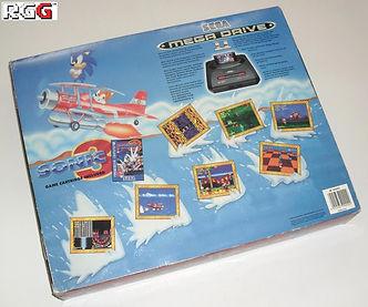 sonic the hedgehog 3 sega console box retrogamegeeks.co.uk retro retrogaming rgg videogames retrogames gamers gaming games remembers megadrive genesis
