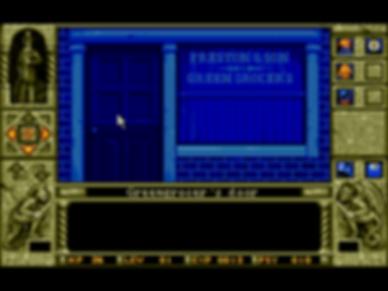 waxworks msdos pc horrorsoft accolade retrogaming review rgg retrogamegeeks amiga dungeon crawler 16-bit horror retro videogame old school gaming cult classic screenshots