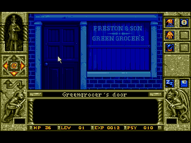 waxworks msdos pc horrorsoft accolade retrogaming review rgg retrogamegeeks amiga dungeon crawler 16-bit horror retro videogame old school gaming cult classic screenshots