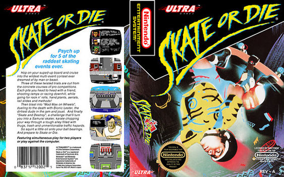 skate or die nes nintendo ultra skateboarding retro game geeks collect retrogamegeeks.co.uk retrogaming gaming gamers games videogames arcade retrogames streets review