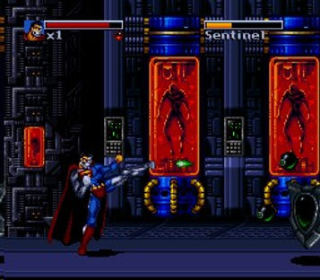 death and return of superman genesis nintendo snes megadrive dc arcade japan super famicom retrogamegeeks.co.uk rgg retrogaming videogames batman gamers gaming retrogames retro comic comics