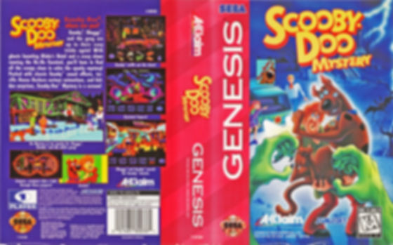 Scooby Doo Mystery Genesis megadrive sega cartoon tv dog rgg retrogamegeeks.co.uk retrogaming retrogames retro game geeks games america videogames gaming gamers kids snes super nintendo supernatural ghosts detective sunsoft acclaim