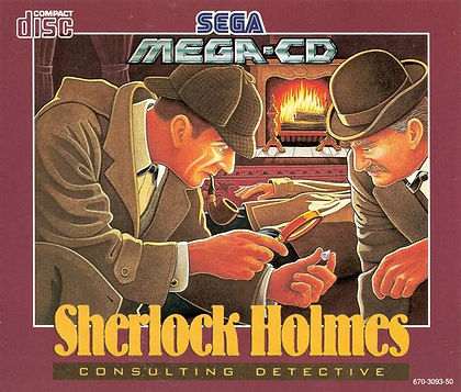 sega mega cd sega sherlock holmes consulting detective vol 1 review rgg retrogamegeeks.co.uk retrogaming videogames gamers gaming games retro game geeks collect pc fmv icom bbc tv movie film benedict crime criminals london victorian mystery