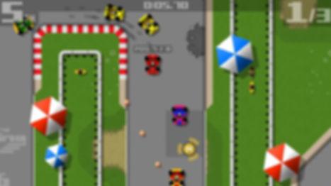 retro racing ios android ouya indiegame team 17 Mr Qwak ouyaforum review rgg retrogamegeeks.co.uk retrogaming videogames retro games sega nintendo micro machines amiga cars formula one
