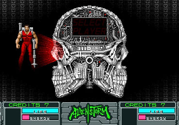 Alien Storm sega arcade mega drive genesis c64 commodore 64 amiga atari st zx spectrum pc dos xbox 360 playstation 3 nintendo switch wii golden axe altered beast Makoto Uchida retrogaming rgg retrogamegeeks.co.uk games gaming gamers retrogamegeeks 90s