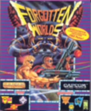 forgotten worlds capcom arcade shmup amiga atari st pc dos sega mega drive genesis master system amstrad zx spectrum c64 commodore 64 turbografx pc engine wii ps2 psp xbox rgg retrogamegeeks.co.uk retrogaming videogames gamers gaming games retro game geeks