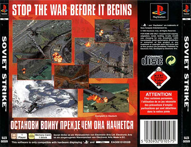 Soviet Strike review rgg retrogamegeeks.co.uk retrogaming videogames games gaming gamers retro game geeks ps2 ps3 playstation sony collect violence EA megadrive genesis Russia war ukraine UN America helicopter Sega Saturn PC electronic arts