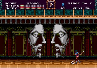 castlevania new generation megadrive genesis review rgg retrogamegeeks.co.uk retro game geeks collect konami sega vampires dracula videogames gaming gamers retrogames