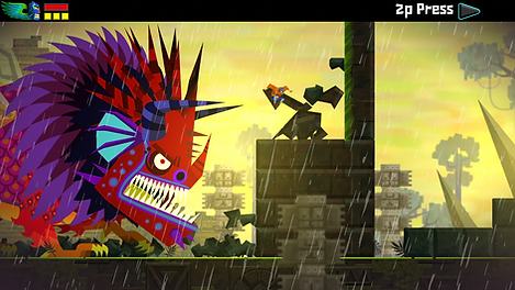 guacamelee ps3 playstation vita indiedev review rgg retrogamegeeks.co.uk retrogaming videogames gaming indie firebrand drinkbox studios lucha libre wrestling image screenshot gamers gaming retro game geeks videogames
