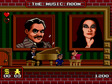 the addams family snes super nintendo ocean review rgg retrogamegeeks.co.uk retrogaming retrogames retro game geeks videogames gaming gamers games movie film 90s monsters ghosts spooky tv show