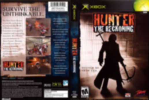 hunter the reckoning microsoft xbox review rgg retrogaming retrogamegeeks.co.uk videogames retro game geeks playstation 2 gamecube pc nintendo gauntlet demons horror zombies buffy the vampire slayer gamers gaming games