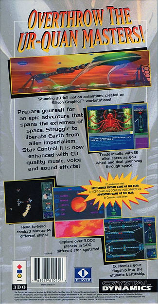 star control 2 the ur-quan masters pc 3do ouya dos windows rgg retrogamegeeks.co.uk retrogaming retrogames videogames retro collect gaming gamers space ios