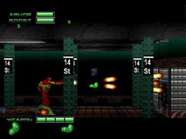 iron man x-o manowar heavy metal acclaim valiant marvel comics retrogaming review rgg retrogamegeeks retro video games psx ps1 screenshots ironman xomanowar comic books licensed realtime associates