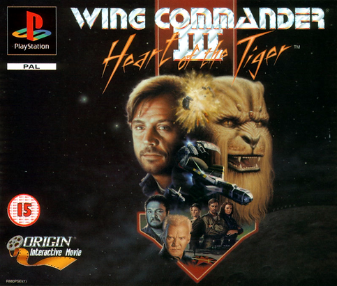 wing commander 3 heart of the tiger origin interactive pal playstation ps1 pc 3do retro game geeks retrogaming retrogamegeeks.co.uk videogames gamers gaming games cover box art space