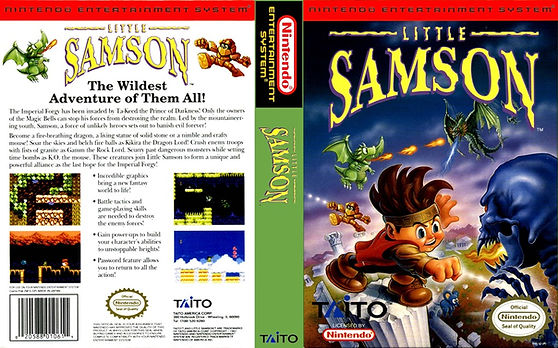 little samson nes review nintendo entertainment system wii u mario zelda metroid rgg retrogamegeeks.co.uk retrogaming videogames retro game geeks gamers gaming collect taito arcade