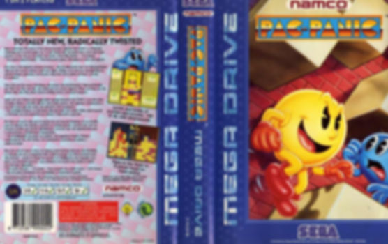 pac panic pac man pac-man pacman arcade sega megadrive genesis retrogaming rgg retrogamegeeks.co.uk videogames nintendo retro game geeks gaming gamers games puzzle ghosts cartoon