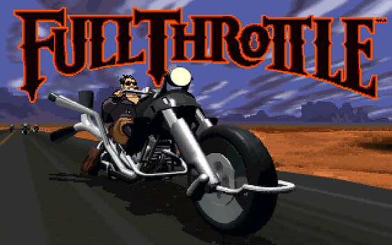 Full Throttle   RetroGameGeeks co uk