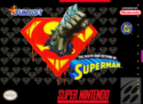 death and return of superman genesis nintendo snes megadrive dc arcade japan super famicom retrogamegeeks.co.uk rgg retrogaming videogames batman gamers gaming retrogames retro comic comics