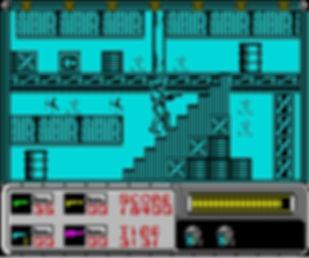 robocop film movie videogame games gaming retrogaming rgg retrogamegeeks.co.uk retro game geeks 80s detroit zx spectrum amiga c64 atari st amstrad cpc 464 movies films nes commodore retrogames screenshot