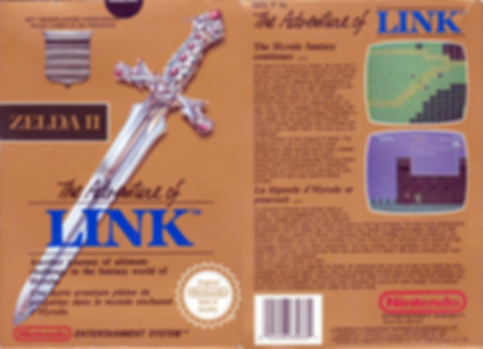 the legend of zelda 2 adventure of link nintendo entertainment system nes review retrogamegeeks.co.uk rgg retrogaming pal box art videogames gamers gaming games retro game geeks wii u snes n64 gameboy rpg advance