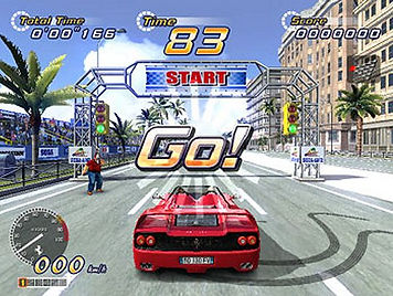 outrun 2 out run coast to coast sega driving rally Ferrari xbox 360 arcade review retrogamegeeks.co.uk retro microsoft rgg retrogaming videogames cars gamers gaming retro game geeks