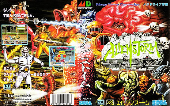 alien storm sega megadrive genesis master system rgg retrogaming retrogamegeeks.co.uk review golden axe aliens streets of rage arcade gaming gamers videogames retro