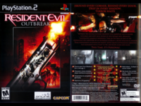 resident evil outbreak 1 capcom rgg retrogamegeeks.co.uk retrogaming retro game geeks playstation 2 3 1 4 zombies mila horror ps2 gaming gamers games videogames monsters umbrella