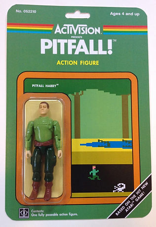 dan polydoris toy collector retro game geeks retrogamegeeks.co.uk retrogaming videogames gamers gaming games indie collect atari vcs 2600 pitfall h.e.r.o. keystone kapers frostbite activision action figures america gi joe star wars