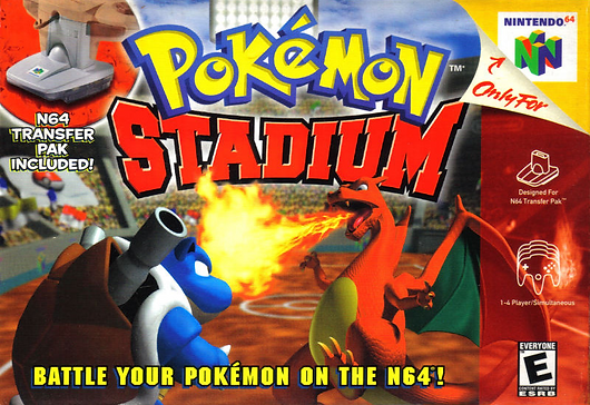 pokémon pokemon stadium nintendo n64 banner header retrogaming hal retrogamegeeks game of the month rgg gotm