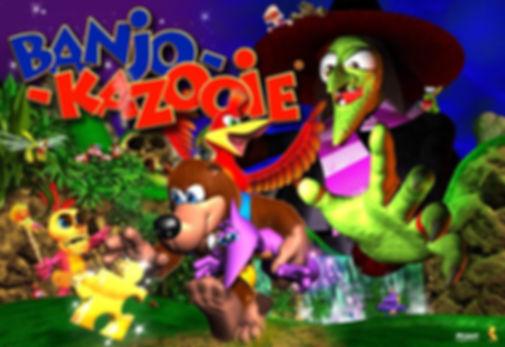 banjo kazooie tooie rare n64 nintendo 64 rgg retrogaming retrogamegeeks.co.uk mario 64 collect goldeneye gbc gba videogames gamers gaming 360 xboxone collection