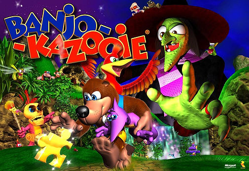 banjo kazooie tooie rare n64 nintendo 64 rgg retrogaming retrogamegeeks.co.uk mario 64 collect goldeneye gbc gba videogames gamers gaming 360 xboxone collection