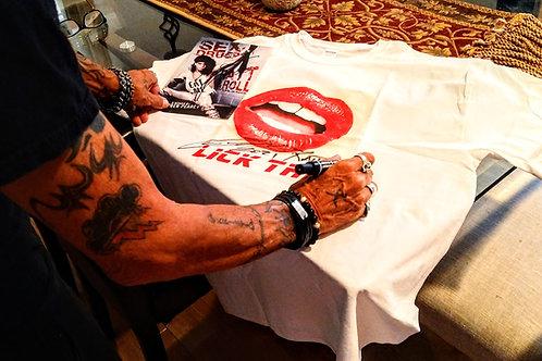 "Personally Signed  Tshirt & 8"" X 10"" Bundle"