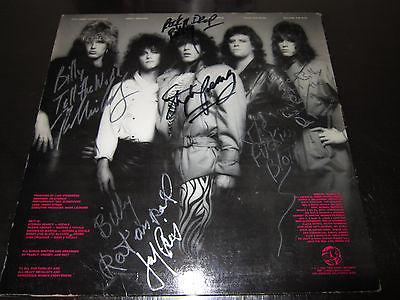RATT 1ST EP SIGNED 1983
