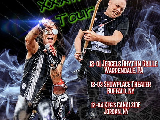 STEPHEN PEARCY'S EAST COAST INVASION FOR THE HOLIDAY'S