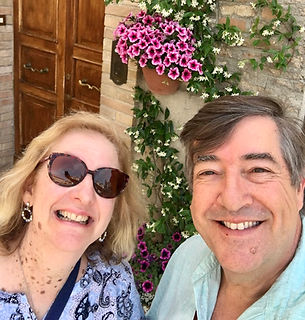 Debbie & Mike in Italy.JPG
