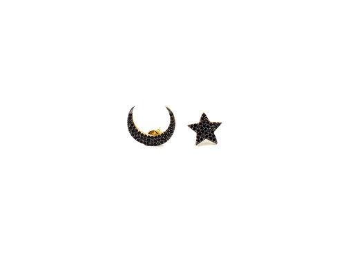 Moon Star Earrings