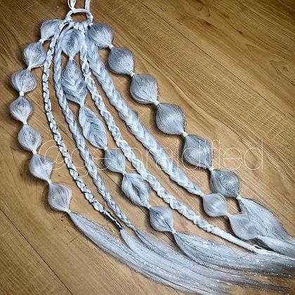 *Discoball * Pony-ups (Custom Ponytail braids)