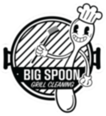 BigSpoon_GrillCleaning_Logo_Outline-WITH