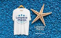 Camiseta Limpeza dos Mares branca