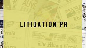 Harnesses the power of PR during legal matters