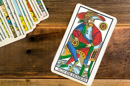 O Rei de Ouros : Carta do Tarot