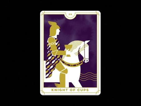O Cavaleiro de Copas : Carta do Tarot