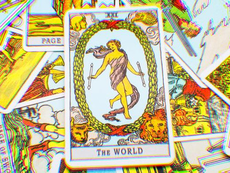 O Mundo : Carta XXI do Tarot